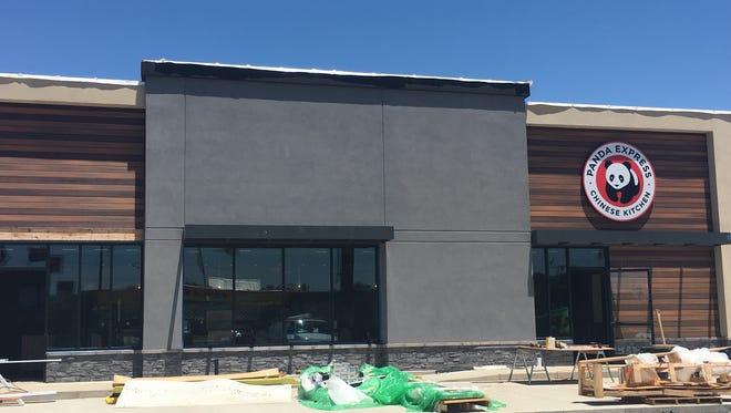 Panda Express is getting closer to opening near Exit 4 of Interstate 24.