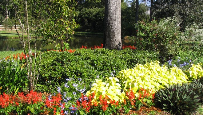 Flower beds can require high maintenance and should be carefully planned.