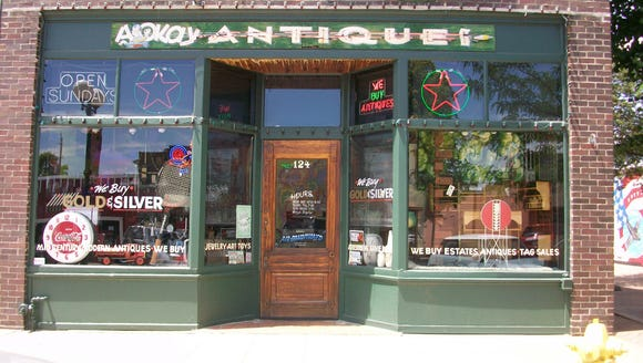 AOK Antiques in Valley Junction is celebrating its