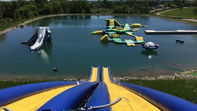 Fondy Aqua Park has a variety of water attractions for visitors to enjoy.
