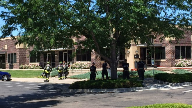 Authorities are responding to the report of an explosion in Midtown Fort Collins.