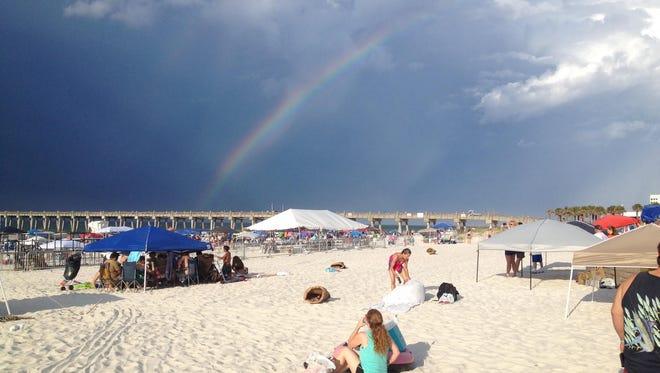 Pensacola Beach.