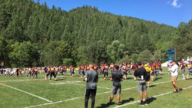 The Sun Devils returned to Tempe after a week at Camp Tontozona.