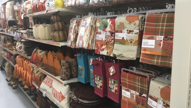 Fall seasonal merchandise is available at the newly remodeled and expanded Clarksville Big Lots, now open.