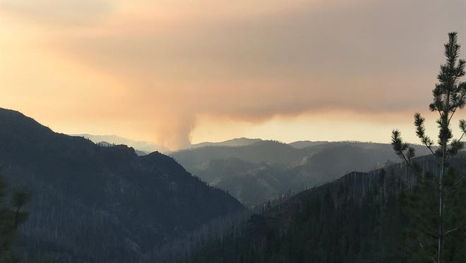 Oregon's wildfires, including the Indigo Fire, will slowly wind down with the rain and snow.