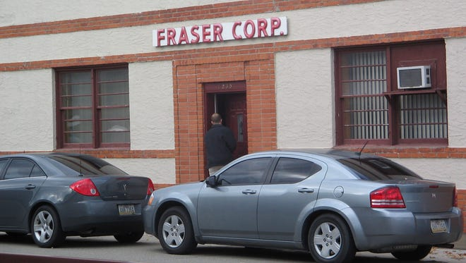 Fraser Manufacturing Corp. in Lexington.