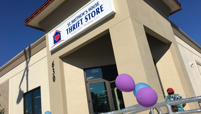 St. Matthew's House opened a new thrift store in Immokalee on Friday, Nov. 17, 2017.