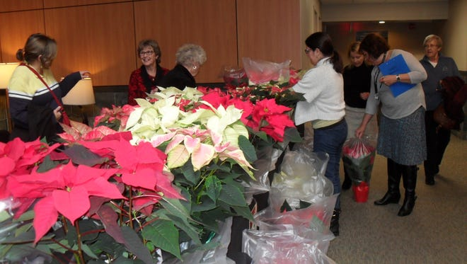 The Santiam Hospital Auxiliary's annual poinsettia sale takes place Wednesday through Friday.
