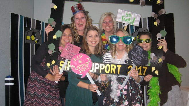 Attendees enjoyed the annual Family Resource Center Sip & Support.