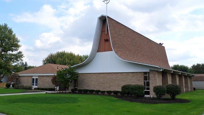 Photo of St. Paul's Lutheran Church in Waldo.