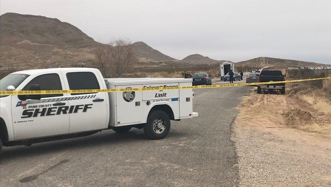 Sheriff's deputies are investigating a body found in the 4400 block of Stagecoach Drive.
