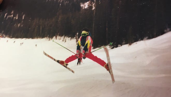 Jeremy Bloom was already doing tricks on his skis at a young age.