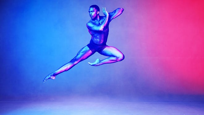 Dancer Michael Jackson Jr. is a member of the Alvin Ailey American Dance Theater.