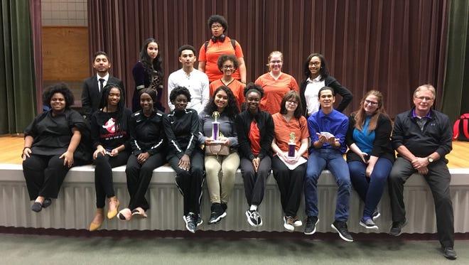 Opelousas High School students took home several awardsa thet District Speech and Drama Rally at the University of Louisiana-Eunice Feb. 16.