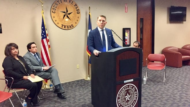 El Paso County Judge Ruben Vogt, at a news conference Monday, said there is a national movement to reform the criminal justice system and El Paso County is doing what it can to be at the forefront.