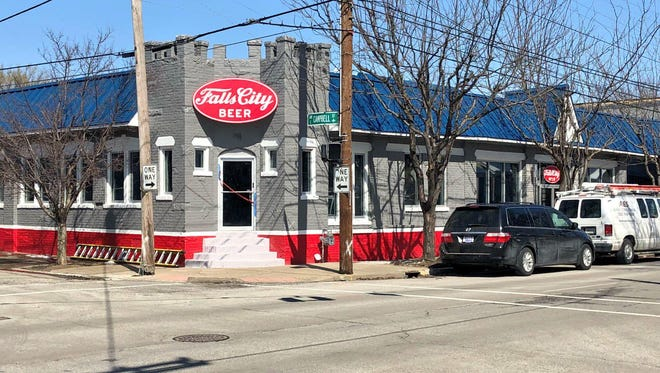 The new Falls City taproom located at 901 E. Liberty Street.