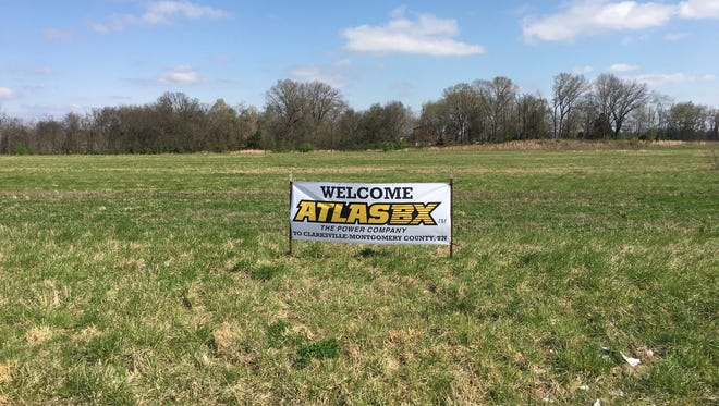 The 40-acre site that will be home to the Atlas BX battery plant in Clarksville.