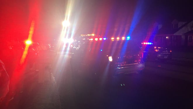 Crews are on the scene of a crash in West Manchester Twp.
