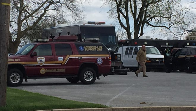 The York County Quick Response Team & Northern Regional responded to a police incident in Dover Township on April 29, 2018.