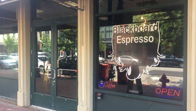 Blackbeard Espresso Company, which launched as a food truck four years ago, has opened its first brick-and-mortar location at 718 W. Main St.