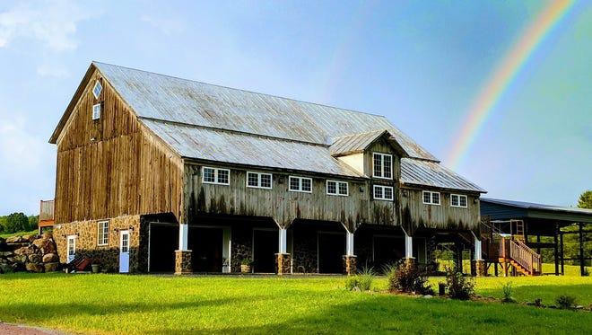 Trillium Creek Wedding Barn in Athens, Wis.
