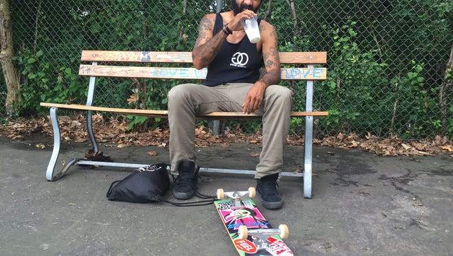 Rob Owens started skateboarding at the age of 6.