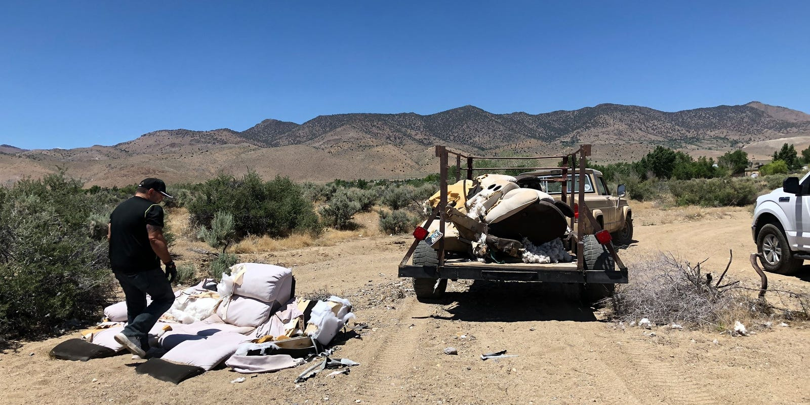 Washoe County Sheriff's Office cites fourth illegal dumper in North Valleys in two-week span