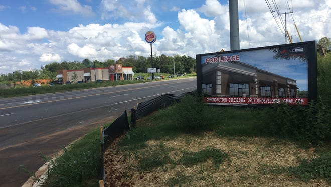 First, Burger King and next, Popeyes. Some limited retail activity is coming near I-24 Exit 8.