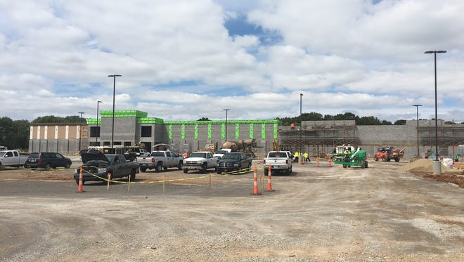 Construction continues this week on Sango Square and Publix in Clarksville.