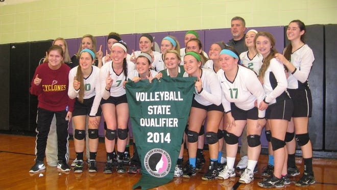 Grand View Christian swept Stanton 3-0 to advance to the school's first state volleyball tournament.