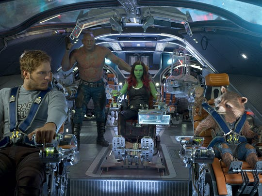 The cosmic goofballs of 'Guardians of the Galaxy Vol.