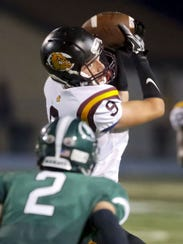 Tight end Jared Welsch made 40 catches for West Allis