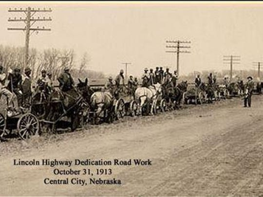Most of the Lincoln Highway was designated along existing roadways, but some stretches required construction.