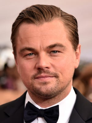 Actor Leonardo DiCaprio attends the 22nd annual Screen Actors Guild Awards.
