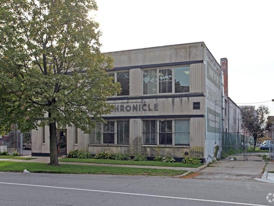 michigan chronicle building