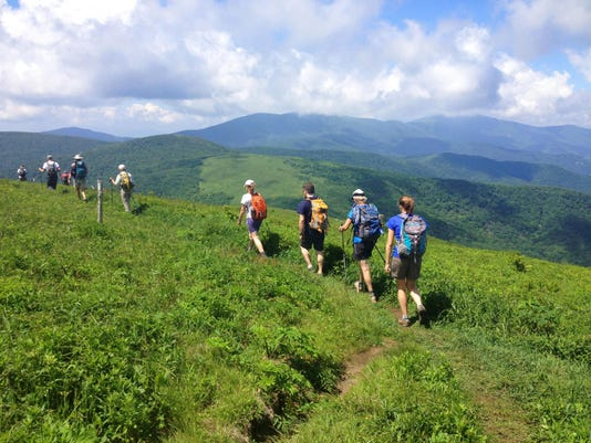 SAHC Roan Mountain group hike