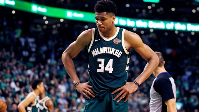 Giannis Antetokounmpo and the Milwaukee Bucks suffered another disappointing end to their season with a first-round exit in the playoffs at the hands of the Boston Celtics.