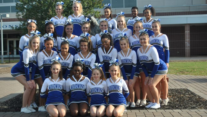 Woodmont will be one of 16 teams in the Class AAAAA competitive cheer state finals Saturday at Colonial Life Arena in Columbia.