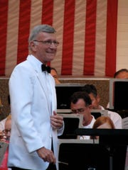 Lerew directs the Hagerstown Municipal Band