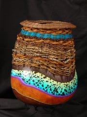 Carving, wood burning, weaving and painting are all methods John Pointek uses to transform gourds. The Cocoa Beach resident will be just one of the artists showcasing his work at this year's Gourd Festival.