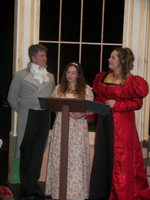 """Arcadia"" opens April 6 at Mary Baldwin's Fletcher Collins Jr. Theatre in Staunton."