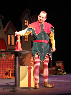 "Tom Chalmers has performed ""The Santaland Diaries"" to sold-out crowds for several years."