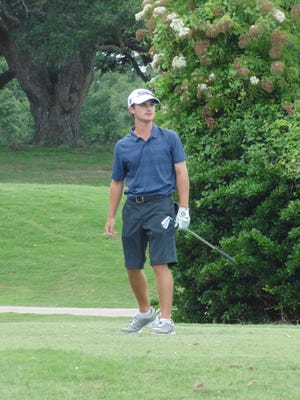St. Thomas More's Matt Weber, shown here at last weekend's State Amateur Golf Championship at Oakbourne Country Club, signed a national letter of intent to continue his golf career at UL.