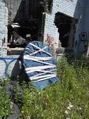 Ford found the stolen train depot clock on Friday,