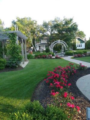 Peace Garden was one of the gardens from last year's Sheboygan Area Garden Walk