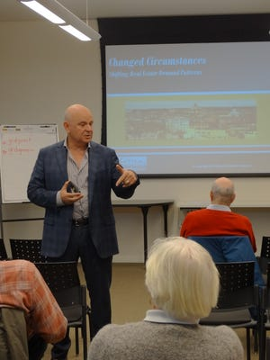 Economist and appraiser Jeff Otteau gives an assessment of New Jersey's economic and real estate landscape on Dec. 10.