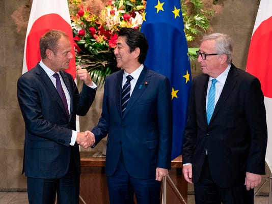 European Union And Japan Ink Free Trade Agreement
