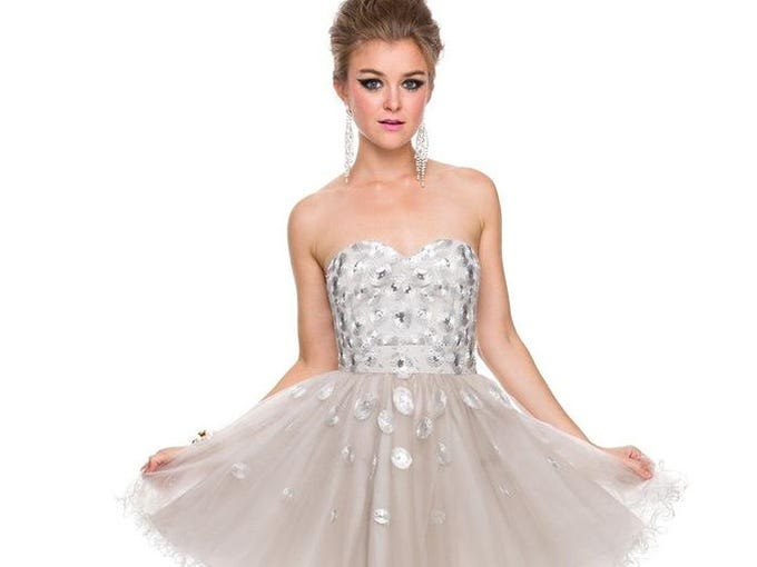 Gallery | Homecoming dresses stay fun and flirty