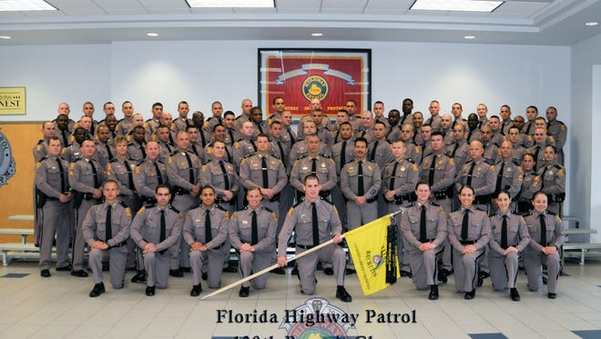 New Florda High Patrol troopers. 130th recruiting class