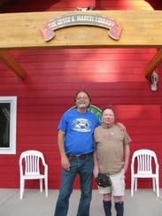Dr. Richard O'Connor, left, and Dr. Jesse Marcel at